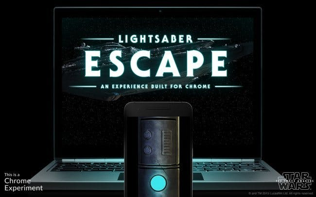 Light Saber Escape
